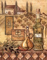 Flavors of Tuscany I Art