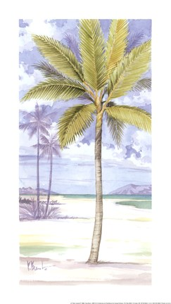 Framed Palm Island II Print