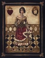 Harlequin Queen  Fine Art Print
