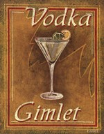 Vodka Gimlet Art