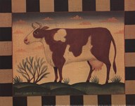 Farm Cow  Fine Art Print