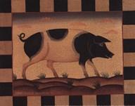 Farm Pig Art