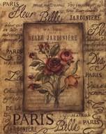 Bel Bouquet I  Fine Art Print