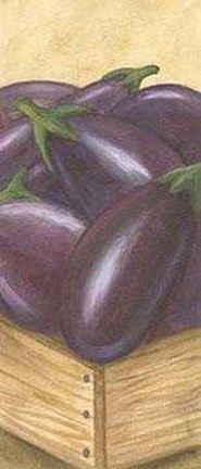 Framed Drawer Eggplants Print