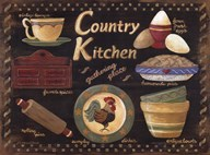 Country Kitchen  Fine Art Print