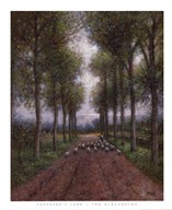 Shepherd's Lane  Fine Art Print