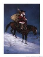 Cowboy Christmas Art