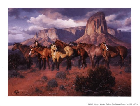 Lookouts Fine Art Print By Jack Sorenson At Fulcrumgallery Com