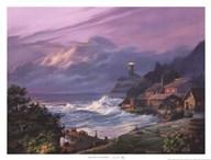 Sunset Fog  Fine Art Print