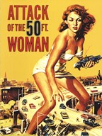 Attack of the 50 Ft. Woman Art