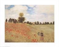 Poppy Fields  Fine Art Print