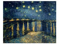 Starry Night over the Rhone, c.1888 Art