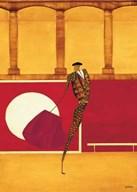 Torero Y Toro I  Fine Art Print
