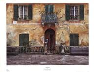 Villa Toscana  Fine Art Print