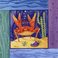 Seafriends-Crab  Fine Art Print