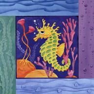 Seafriends-Seahorse  Fine Art Print