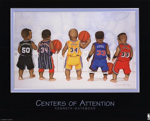 Framed Centers of Attention Print