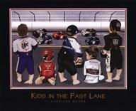 Kids in the Fast Lane  Fine Art Print