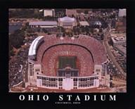 Ohio Stadium - Oh State Buckeyes  Fine Art Print