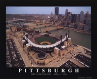 Pittsburgh - Pnc Park - Pirates  Fine Art Print