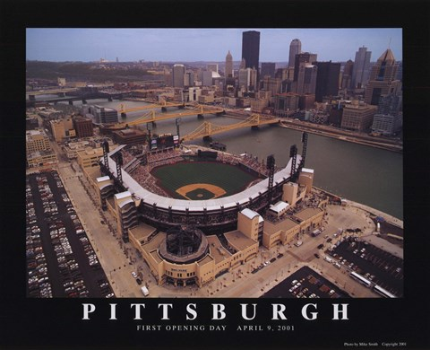 Framed Pittsburgh - Pnc Park - Pirates Print