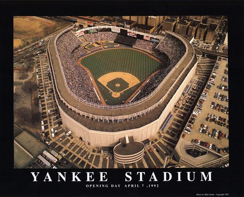 Framed Yankee Stadium - The Bronx NY Print