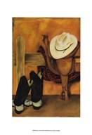 Modern Cowboy  Fine Art Print