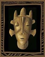 African Mask II  Fine Art Print
