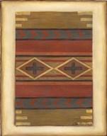 Rio Grande Weaving (H) I  Fine Art Print
