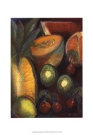 Luscious Tropical Fruit I Art