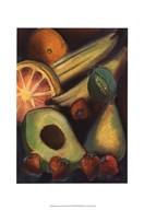 Luscious Tropical Fruit II Art