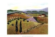 Tuscany Afternoon I Art