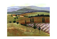 Tuscany Afternoon II Art