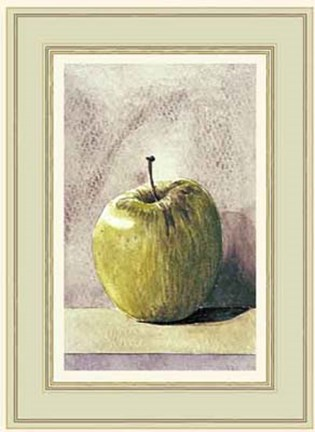 Framed Granny Smith Apple Print