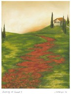 Tuscany at Sunset I Art