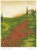 Tuscany at Sunset I Art