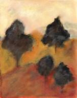 Printed Sonoma Hills I  Fine Art Print