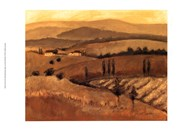 Golden Tuscany Afternoon II Art