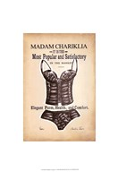 Chariklia's Lingerie I  Fine Art Print