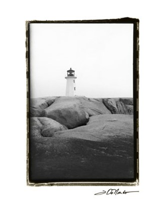 Framed Peggy's Cove Print