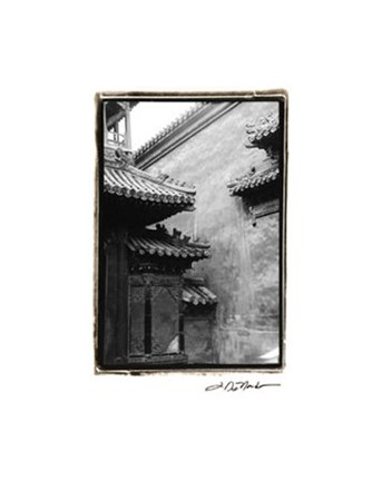 Framed Old Beijing Print