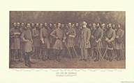 Robert E. Lee and his Generals  Fine Art Print