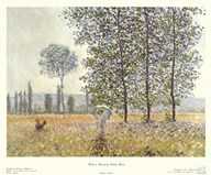 Fields in Spring, 1884  Fine Art Print