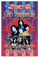 Led Zeppelin, Alice Cooper  Fine Art Print