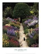The Garden Cat Art