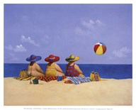 Three Ladies Sunning  Fine Art Print