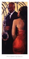 Sax Seduction  Fine Art Print