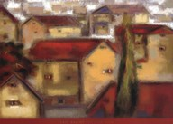 Village View  Fine Art Print