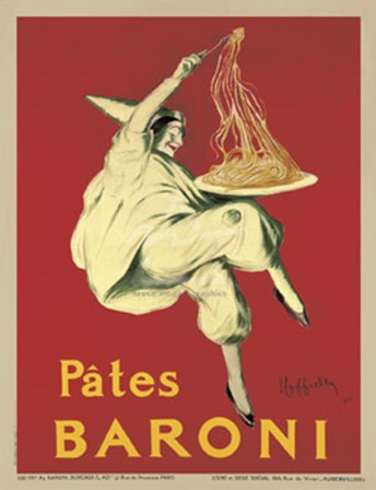 Pates Baroni by Leonetto Cappiello art print