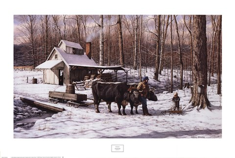 Framed Sugar Bush Print